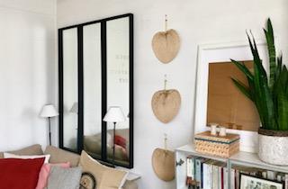 Accrocher des éventails à vos murs de salon