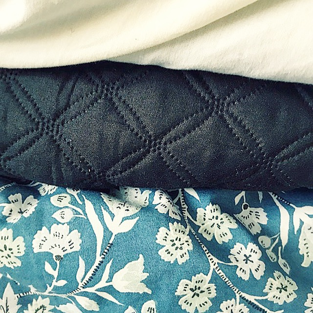 Différentes textures pour le lit