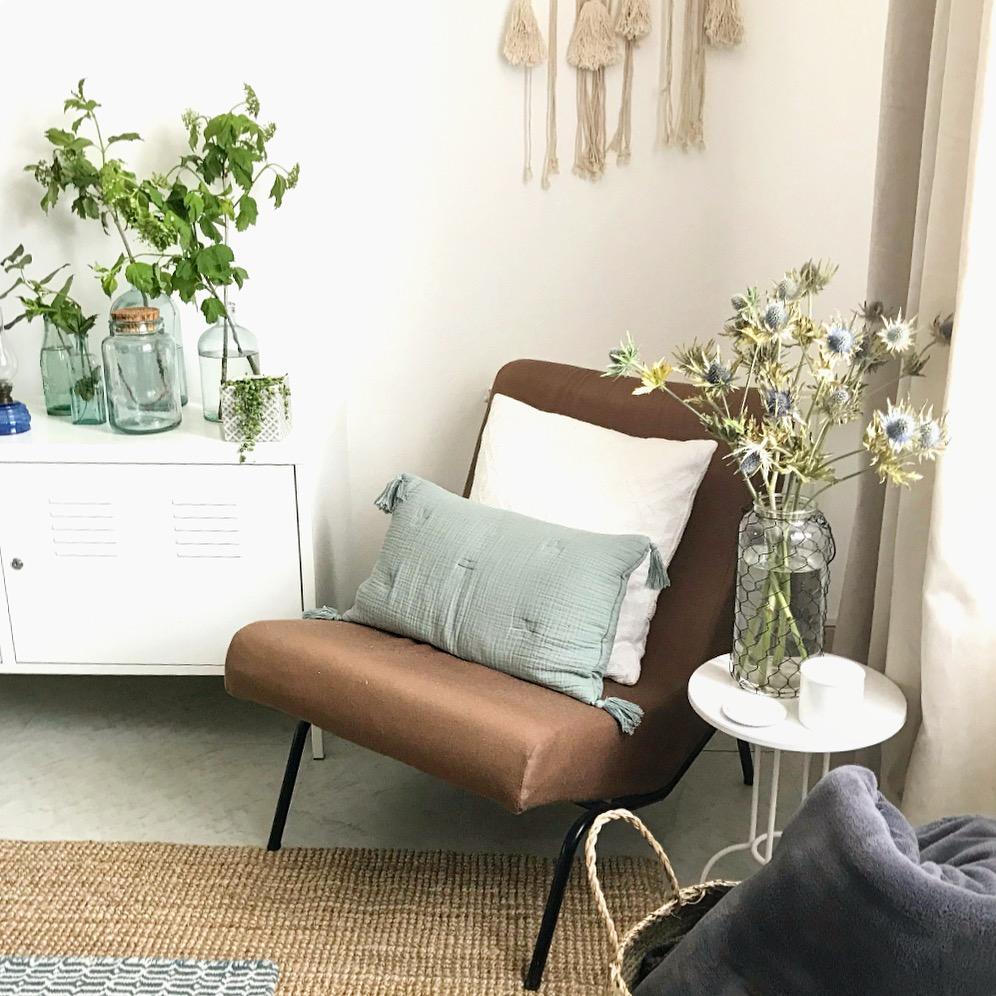 Salon et fauteuil vintage
