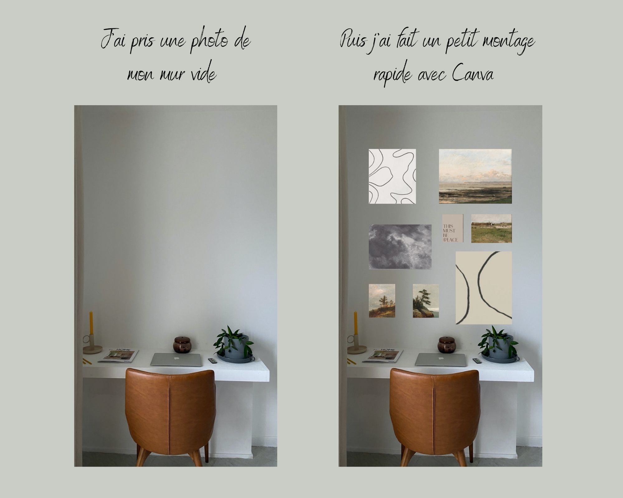 montage design sur Canva.fr